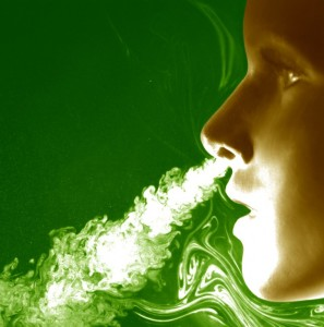 exhalacion en el canto